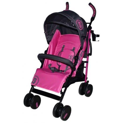 Bebe Stars Καρότσι Baby buggy Smart Ροζ 180-185 5213002341209