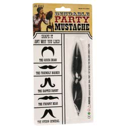 CLOWN Bendable Party Mustache 71847 5203359718472