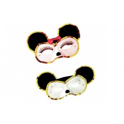 CLOWN Μάσκα Ματιών Ποντικούλης Μίκυ - Ποντικούλα Μίνι - 2 Σχέδια 80280 5203359802805