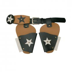 CLOWN Sheriff Gun Belt with Stars 70014 5203359700149