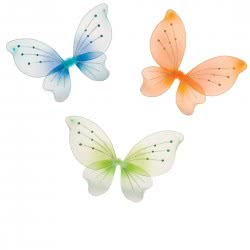 CLOWN Wing Little Butterfly With Golddust - 3 Colors 73630 5203359736308