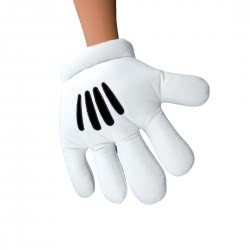 CLOWN Gloves Mickey Mouse 80732 5203359807329