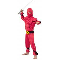 Fun Fashion Αποκριάτικη Στολή Νίντζα Μαχητής Κόκκινος Νο. 06 241-06 5204745241062