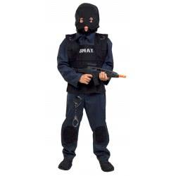 Fun Fashion Carnaval Costume Police Officer Of Secret Team S.W.A.T. Νο. 04 342-04 5204745342042
