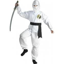 CLOWN Carnaval Costume White Ninja Νο. 10 89410 5203359894107
