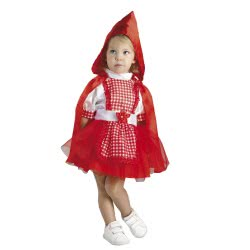 CLOWN Αποκριάτικη Στολή Κοκκινοσκουφίτσα - Red Hood Baby (Bebe) Νο. 24 17924 5203359179242