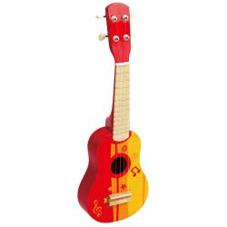 Hape Early Melodies Ukulele Red E0316 6943478008854