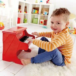 Hape Early Melodies Ξύλινο Πιάνο 18 Κλειδιά Playful Piano E0318 6943478008878
