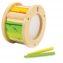 Hape Early Melodies Ξύλινο Τύμπανο Little Drummer E8167 6943478016620
