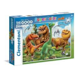 Clementoni Παζλ 24τεμ Maxi Super Color Disney Ο καλόσαυρος 1200-24035 8005125240357