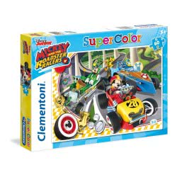 Clementoni ΠΑΖΛ 60 S.C. Mickey Roadster Racers 26976 8005125269761