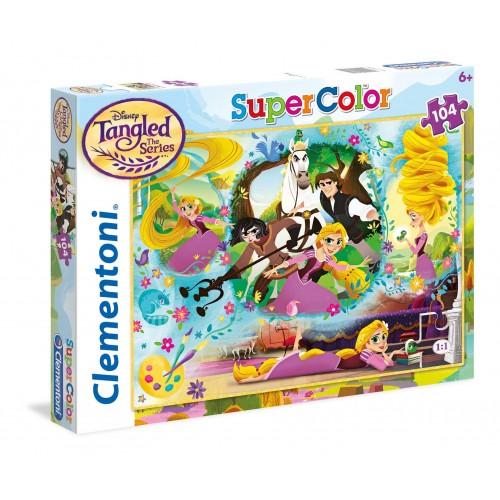 Clementoni ΠΑΖΛ 104 S.C. Princess - Rapunzel 1210-27084 8005125270842
