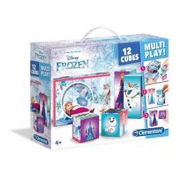 Clementoni 12 Κύβοι Multiplay Frozen 1100-41503 8005125415038