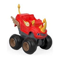 Fisher-Price Blaze Οχήματα Slam and Go - Μπλέιζ Ρινόκερος CGK22 / FHV04 887961529302