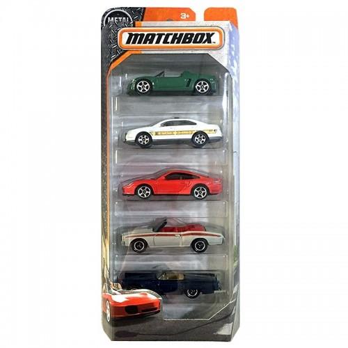 MATCHBOX Αυτοκινητάκια - Σετ Των 5 Σε 3 Σχέδια C1817 027084092950