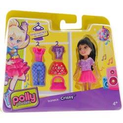 Mattel Polly Pocket - Κούκλα Με Ρούχα: Crissy CBW79 / CGJ03 887961064971