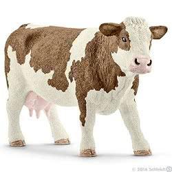 Schleich Αγελάδα Simmental SC13801 4005086138018