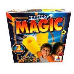 Desyllas Games Δεσύλλας AMAZING MAGIC ΤΑ ΜΑΓΙΚΑ ΚΥΠΕΛΛΑ 8911 8854019089110