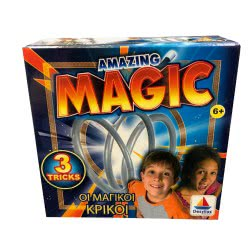 Desyllas Games Δεσύλλας AMAZING MAGIC ΟΙ ΜΑΓΙΚΟΙ ΚΡΙΚΟΙ 8912 8854019089127
