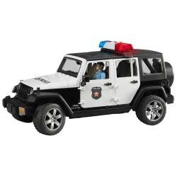 bruder Jeep Wrangler Unlimited Rubicon Αστυνομίας με Αστυνομικό BR002526 4001702025267