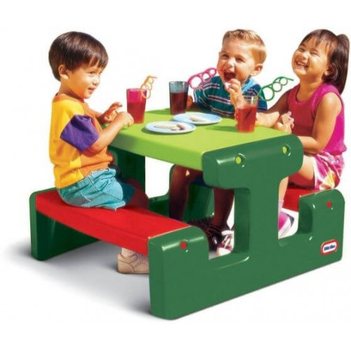 little tikes ΤΡΑΠΕΖΑΚΙ ΠΙΚΝΙΚ EVERGREEN 479A 050743427183