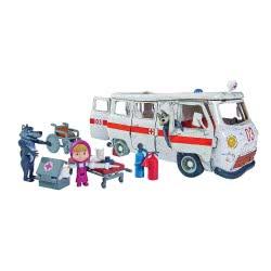 Simba Masha Ασθενοφόρο Playset Ambulance 109309863 4006592998639