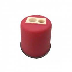 LUNA OFFICE Ξύστρα Διπλή Βαρελάκι Πλαστική - 4 Χρώματα 620515 5205698200564