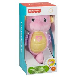 Fisher-Price FISHER PRICE SOOTHE AND GLOW SEAHORSE CLOCK LIGHT PINK DGH84 / DGH83 887961192568