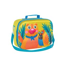 Oops On The Go 3D Soft Lunchbox Happy Snack Forest X30-31006-10 8033576717661