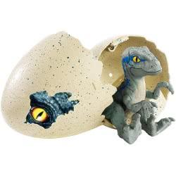 Mattel Jurassic World Hatchlings Egg - Velociraptor Blue FMB91 / FMB92 887961569230