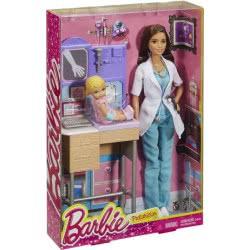 Mattel Barbie Παιδίατρος Σετ Παιχνιδιού DHB63 / DKJ12 887961240481