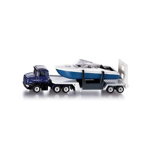 siku Φορτηγό με βάρκα/50/HK SI001613 4006874016136