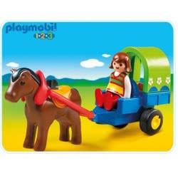 Playmobil Αμαξάκι Με Πόνυ 6779 4008789067791