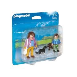 Playmobil Duo Pack μαμά και παιδί 5513 4008789055132