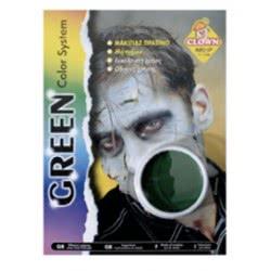 CLOWN Μακιγιάζ Uno Πράσινη 70292 5203359702921