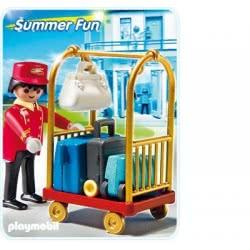Playmobil Τρόλεϊ Και Αποσκευές 5270 4008789052704