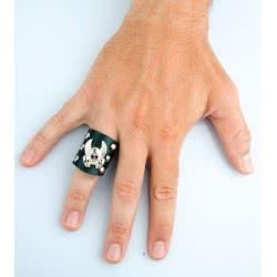 CLOWN Δαχτυλίδι Πανκ Υφασμ Με Τρουκ Και Νεκ/Λη 12 71269 5203359712692