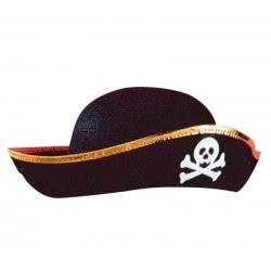 CLOWN Καπέλο Παιδί Πειρατή Τσόχινο 74107 5203359741074