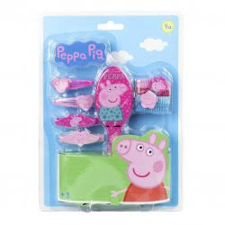 Loly PEPPA PIG Σετ κοκαλάκια με βούρτσα 2500000315 8427934777556