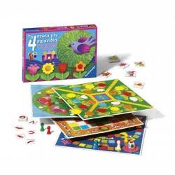 Ravensburger Επιτρ. Παιδικό 4 Παιχνίδια 05-22031 4005556220311
