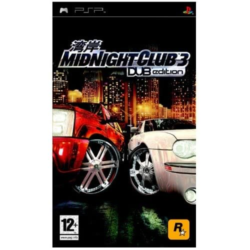 ROCKSTAR GAMES PSP Midnight Club 3 Dub Edition 5026555281126 5026555281126