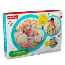 Fisher-Price Ροζ Infant To Toddler - Ριλάξ/Κούνια Y8184 746775248710