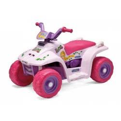 Peg-Perego Toys Peg-Perego Μπαταριοκίνητη Γουρούνα 6V Quad Princess ED1152 8005475339565
