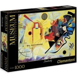 Clementoni Παζλ 1000τεμ. Museum Collection Kandinsky: Κίτρινο Κόκκινο Μπλε 1260-39195 8005125391950