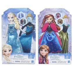 Hasbro Disney Frozen Fashion Change - 2 Σχέδια B5169 5010994945183