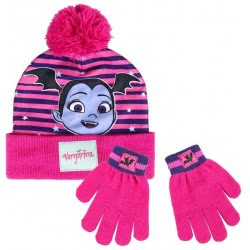 Cerda Vampirina Winter Hat And Gloves - Purple 2200003217 8427934199952