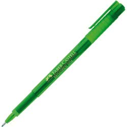 Faber-Castell Μαρκαδοράκι Γραφής Broadpen 155467 Πράσινο 12308320 4005401554677