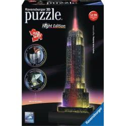Ravensburger Παζλ 3D 216Τμχ Empire State Building Εκδοση 12566 4005556125661