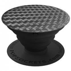 Popsockets Carbonite Weave Compatible with All Smartphones 101563 815373028441