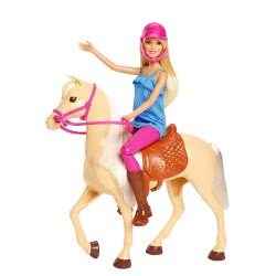 Mattel Barbie And Horse FXH13 887961691351